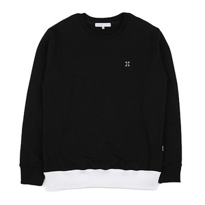 980G SWEAT SHIRT (BLACK-WHITE)