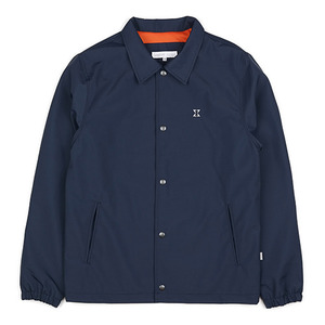 WATERPROOF COACH JACKET (NAVY)