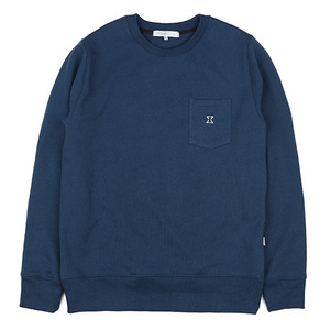 980g SWEAT SHIRT (DEEP BLUE)