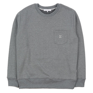 980g SWEAT SHIRT (CHARCOAL GREY)