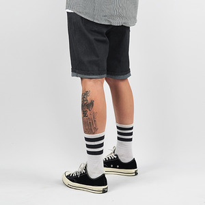 ONE WASHED SHORTS (DEEP GREY)