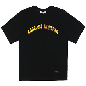 CARELESS WHISPER TEE (BLACK)
