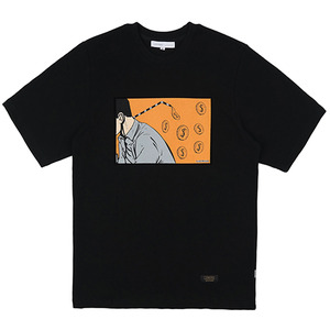 MONEY STRAW TEE (BLACK)