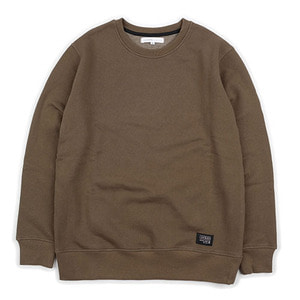 HEAVY STANDARD SWEAT SHIRT (KHAKI)