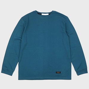 BASIC LONG SLEEVE TEE (TEAL)