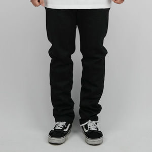 COTTON PANTS (BLACK)